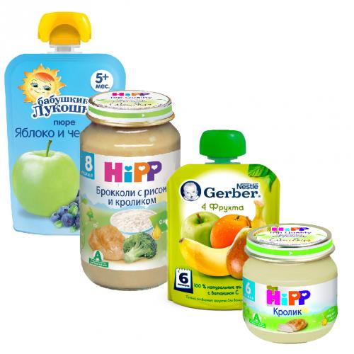 Дистрибуция детского питания